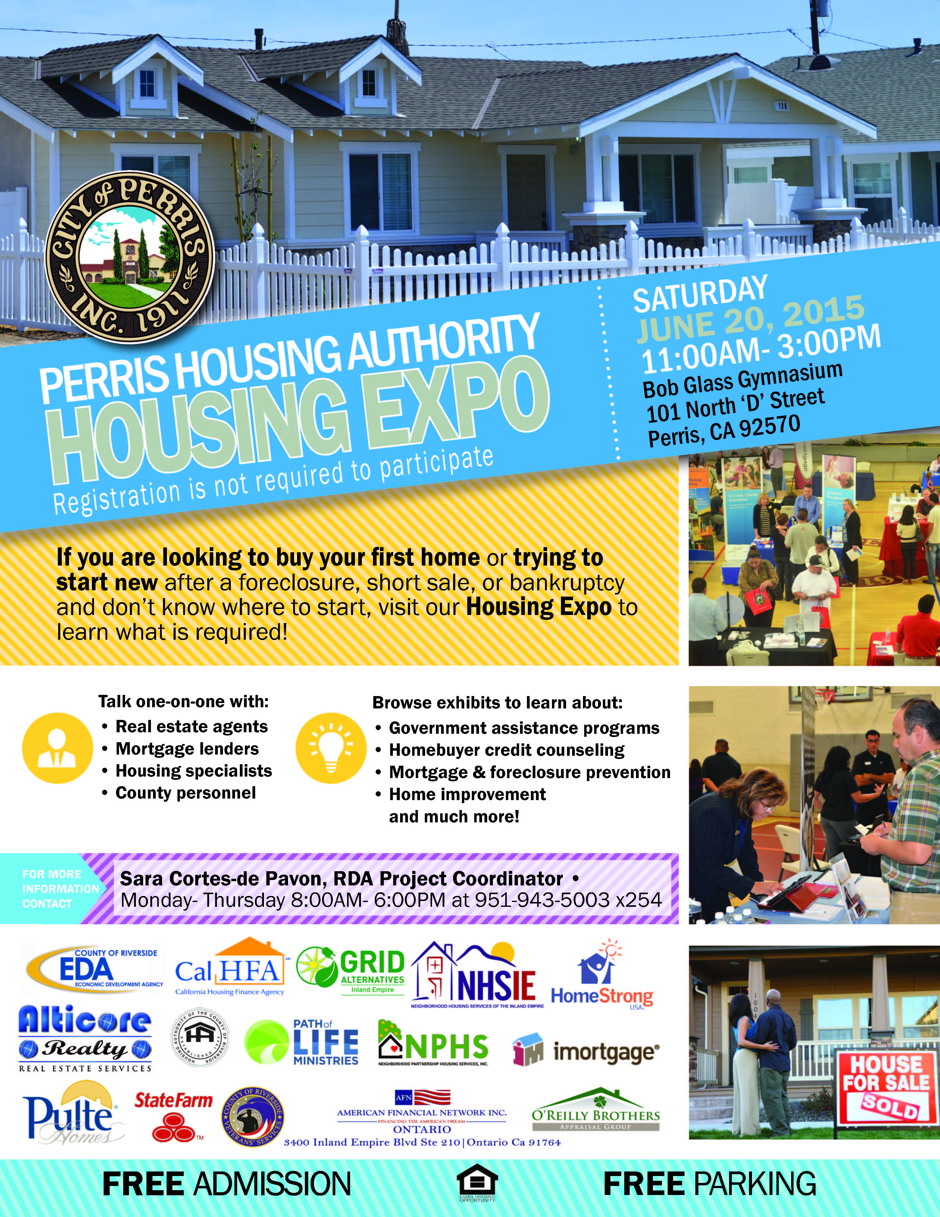 Perris Housing Authority Housing Expo Keep Your Home
